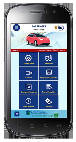 511 PA mobile phone app