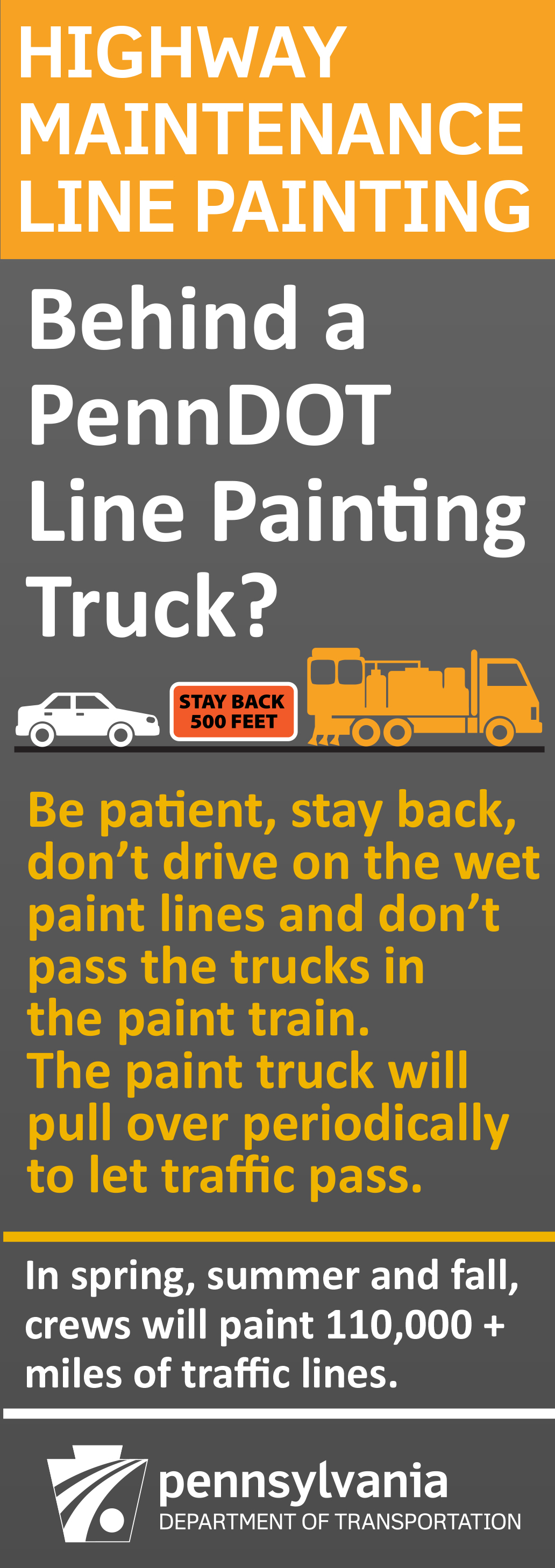 line painting info graphic